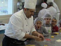 a scuola di cucina